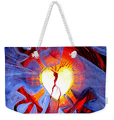 Love - In Three ... For All Weekender Tote Bag