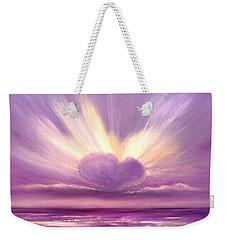 Love At Sunset Weekender Tote Bag