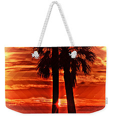 Loving Palms-the Journey Weekender Tote Bag