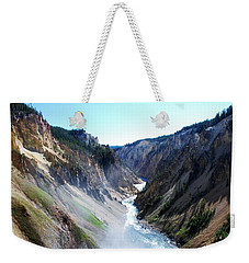 Lower Falls - Yellowstone Weekender Tote Bag