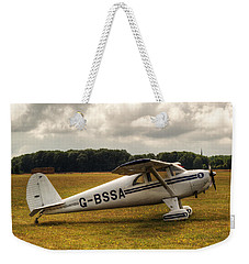 Luscombe 8e Deluxe 2 Seater Plane Weekender Tote Bag