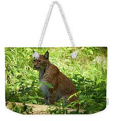 Lynx Weekender Tote Bag by Jouko Lehto