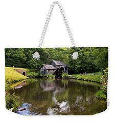 Mabry Mill And Pond Weekender Tote Bag