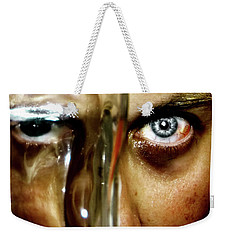 Weekender Tote Bag featuring the photograph Mad Man by Pedro Cardona
