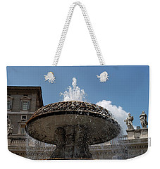Maderno's Fountain Weekender Tote Bag
