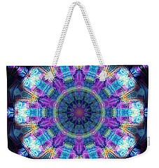Magic Snowflake Weekender Tote Bag by Alec Drake