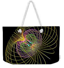 Magnetism 2 Weekender Tote Bag by Russell Kightley