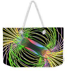 Magnetism 5 Weekender Tote Bag