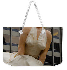 Magnificent Marilyn Weekender Tote Bag by Julia Wilcox