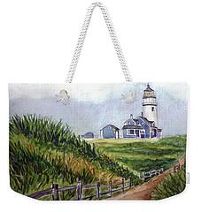 Maine Light Weekender Tote Bag by Clara Sue Beym