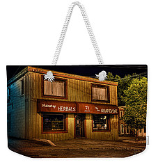 Mainstay At Night Weekender Tote Bag