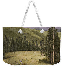 Majesty In The Rockies Weekender Tote Bag