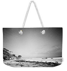 Weekender Tote Bag featuring the photograph Malibu Peace And Tranquility by Nina Prommer