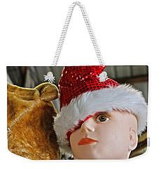 Manniquin Santa 2 Weekender Tote Bag by Bill Owen