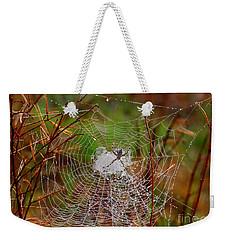 Marsh Spider Web Weekender Tote Bag by Carol Groenen