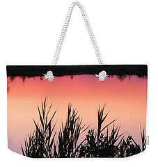 Weekender Tote Bag featuring the photograph Marsh Sunset by Clara Sue Beym