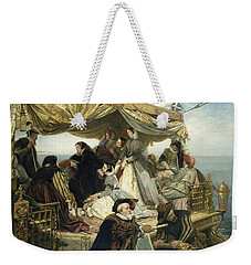 Mary Stuart's Farewell To France Weekender Tote Bag by Henry Nelson O Neil