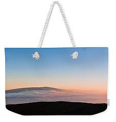 Mauna Loa Sunset Weekender Tote Bag