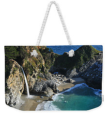 Weekender Tote Bag featuring the photograph Mcway Falls by Lynn Bauer