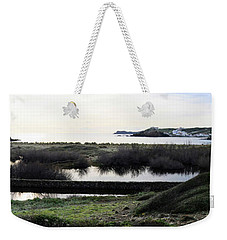 Weekender Tote Bag featuring the photograph Mediterranean View by Pedro Cardona