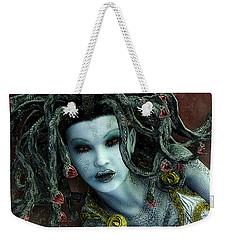 Medusa Weekender Tote Bag by Jutta Maria Pusl
