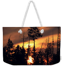 Melting Skies Weekender Tote Bag