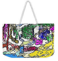 Melting Troubles Weekender Tote Bag by Alec Drake