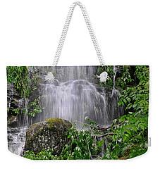 Mendenhall Glacier Flooding Waterfall Juneau Alaska 1542 Weekender Tote Bag