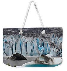 Mendenhall Glacier Juneau Alaska 1698 Weekender Tote Bag