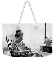 Mending More Than Clothes Weekender Tote Bag