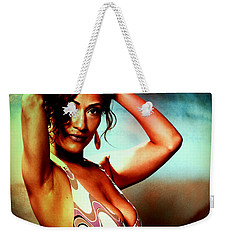 Weekender Tote Bag featuring the photograph Mennail by Alice Gipson