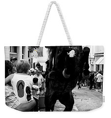 Weekender Tote Bag featuring the photograph Menorca Horse 3 by Pedro Cardona