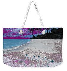 Merry Beachy Christmas Weekender Tote Bag