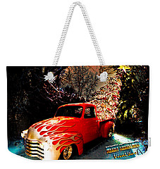 Merry Christmas From Vivachas Weekender Tote Bag