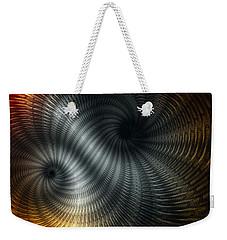 Metallic Spin Weekender Tote Bag