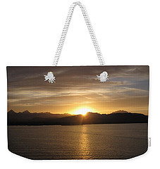 Weekender Tote Bag featuring the photograph Mexican Sunset by Marilyn Wilson