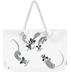 Mice - Sumie Style Weekender Tote Bag