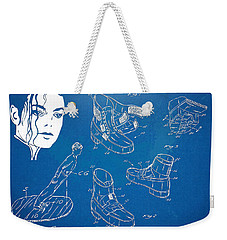 Michael Jackson Anti-gravity Shoe Patent Artwork Weekender Tote Bag