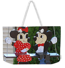Mickey And Minnie Mouse Weekender Tote Bag