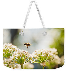Mid-pollenation Weekender Tote Bag by Cheryl Baxter