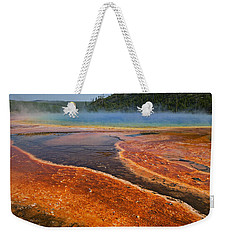 Middle Hot Springs Yellowstone Weekender Tote Bag