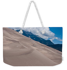 Weekender Tote Bag featuring the photograph Miles Of Sand by Colleen Coccia