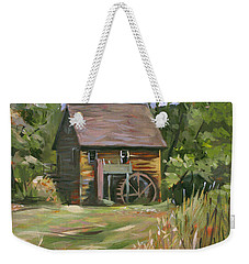 Mill In The Meadow Weekender Tote Bag