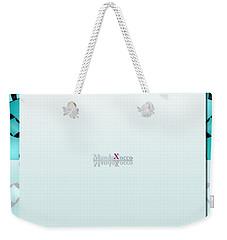 Mint Back Weekender Tote Bag