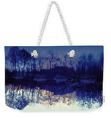 Weekender Tote Bag featuring the photograph Mirror Pond In The Berkshires by Tom Wurl
