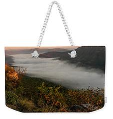 Mistfull Weekender Tote Bag