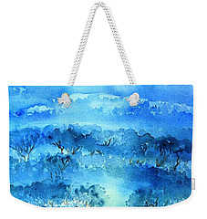 Misty Morning  Ireland  Weekender Tote Bag by Trudi Doyle