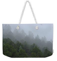Misty Mountain Morning Weekender Tote Bag
