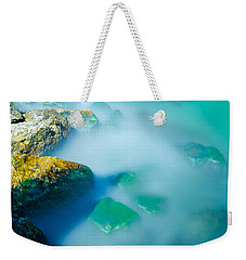 Misty Water Weekender Tote Bag
