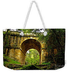Mitchells Pass Bridge Lapstone A Convict Built Bridge Weekender Tote Bag